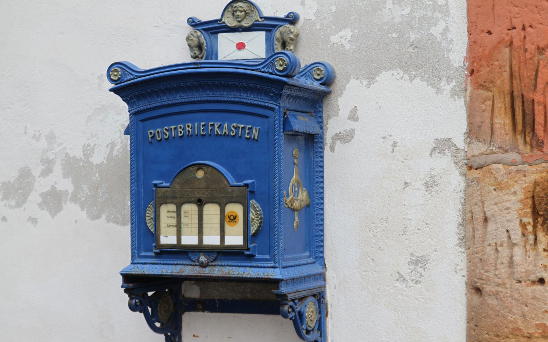 Postbriefkasten Lucky Mondschein Alsfeld
